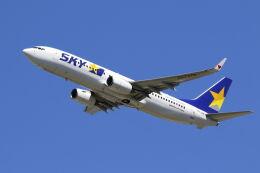 mocohide☆さんが、福岡空港で撮影したスカイマーク 737-86Nの航空フォト(飛行機 写真・画像)