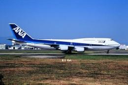 キットカットさんが、福岡空港で撮影した全日空 747-481(D)の航空フォト(飛行機 写真・画像)