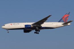 banshee02さんが、成田国際空港で撮影したデルタ航空 777-232/ERの航空フォト(飛行機 写真・画像)