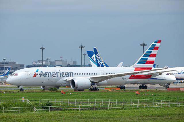 SGR RT 改さんが、成田国際空港で撮影したアメリカン航空 787-8 Dreamlinerの航空フォト(飛行機 写真・画像)