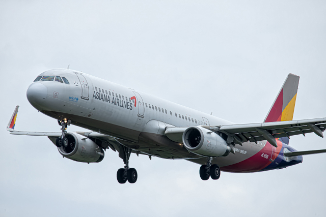 SGR RT 改さんが、成田国際空港で撮影したアシアナ航空 A321-231の航空フォト(飛行機 写真・画像)