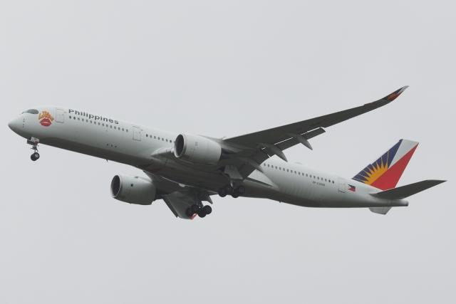 木人さんが、成田国際空港で撮影したフィリピン航空 A350-941の航空フォト(飛行機 写真・画像)