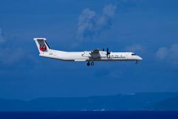 Frankspotterさんが、那覇空港で撮影した琉球エアーコミューター DHC-8-402Q Dash 8 Combiの航空フォト(飛行機 写真・画像)