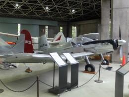 東京都立産業技術高等専門学校 荒川キャンパスで撮影された東洋航空工業の航空機写真