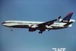 tassさんが、成田国際空港で撮影したデルタ航空 MD-11の航空フォト(飛行機 写真・画像)