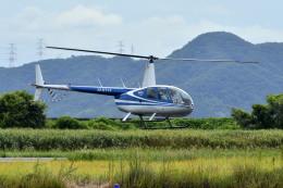 Gambardierさんが、岡南飛行場で撮影した日本法人所有 R44 Clipperの航空フォト(飛行機 写真・画像)