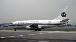 ハミングバードさんが、名古屋飛行場で撮影した厦門航空 737-2T4C/Advの航空フォト(飛行機 写真・画像)