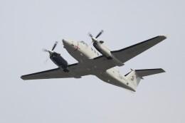 hanatomo735さんが、岩国空港で撮影したアメリカ海兵隊 UC-12W Super King Air (A200C)の航空フォト(飛行機 写真・画像)