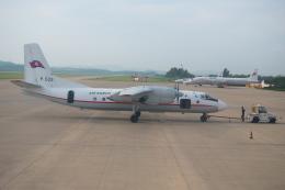海馬沢瀬戸さんが、平壌・順安国際空港 - Pyong Yang Sunan International Airport [FNJ/ZKPY]で撮影した高麗航空 An-24RVの航空フォト(飛行機 写真・画像)