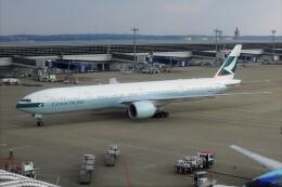 OMAさんが、中部国際空港で撮影したキャセイパシフィック航空 777-367/ERの航空フォト(飛行機 写真・画像)