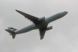 OMAさんが、成田国際空港で撮影したキャセイパシフィック航空 A330-342Xの航空フォト(飛行機 写真・画像)