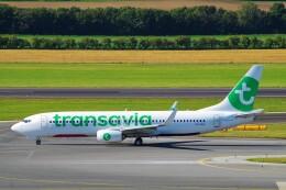 ちっとろむさんが、ウィーン国際空港で撮影したトランサヴィア 737-8K2の航空フォト(飛行機 写真・画像)