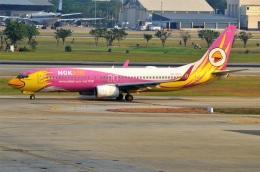 amagoさんが、ドンムアン空港で撮影したノックエア 737-86Nの航空フォト(飛行機 写真・画像)