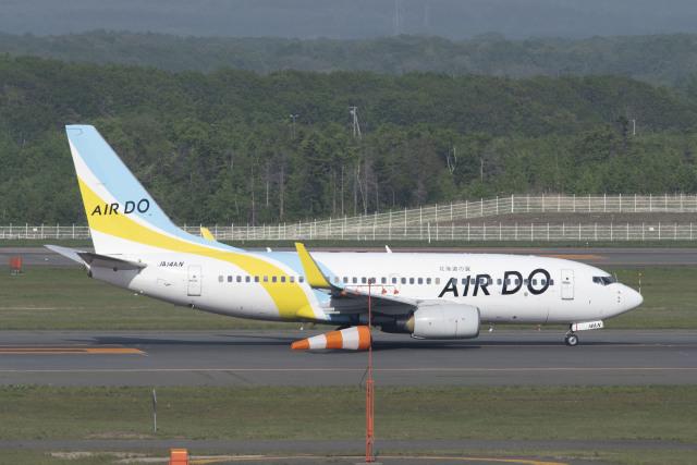 RYO13さんが、新千歳空港で撮影したAIR DO 737-781の航空フォト(飛行機 写真・画像)