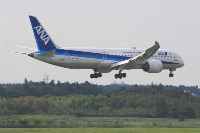 Hiro-hiroさんが、成田国際空港で撮影した全日空 787-9の航空フォト(飛行機 写真・画像)
