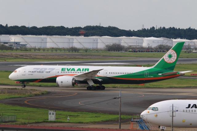 Hiro-hiroさんが、成田国際空港で撮影したエバー航空 787-9の航空フォト(飛行機 写真・画像)