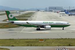 Gambardierさんが、関西国際空港で撮影したエバー航空 A330-203の航空フォト(飛行機 写真・画像)