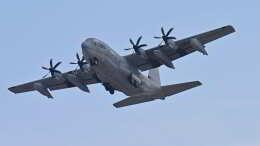 オキシドールさんが、岩国空港で撮影したアメリカ海兵隊 KC-130J Herculesの航空フォト(飛行機 写真・画像)
