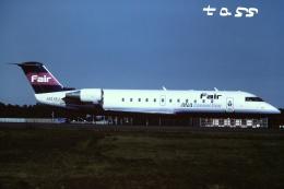 tassさんが、成田国際空港で撮影したフェアリンク CL-600-2B19 Regional Jet CRJ-100LRの航空フォト(飛行機 写真・画像)