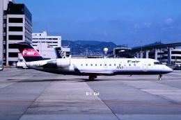 キットカットさんが、伊丹空港で撮影したアイベックスエアラインズ CL-600-2B19 Regional Jet CRJ-100LRの航空フォト(飛行機 写真・画像)