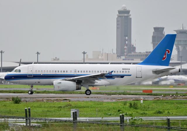 雲霧さんが、成田国際空港で撮影したユナイテッド航空 A319-132の航空フォト(飛行機 写真・画像)