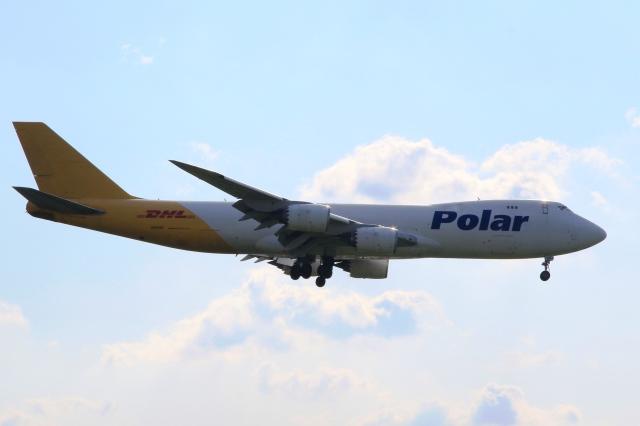 Hiro-hiroさんが、成田国際空港で撮影したポーラーエアカーゴ 747-87UF/SCDの航空フォト(飛行機 写真・画像)