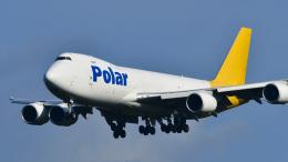 パンダさんが、成田国際空港で撮影したポーラーエアカーゴ 747-87UF/SCDの航空フォト(飛行機 写真・画像)