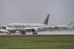 gomaさんが、ミュンヘン・フランツヨーゼフシュトラウス空港で撮影したカタール航空 A350-941の航空フォト(飛行機 写真・画像)