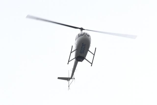 500さんが、自宅上空で撮影した匠航空 R44 IIの航空フォト(飛行機 写真・画像)