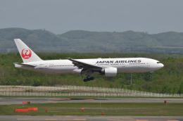 EC5Wさんが、新千歳空港で撮影した日本航空 777-289の航空フォト(飛行機 写真・画像)