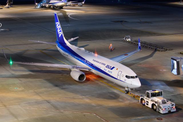 kuraykiさんが、羽田空港で撮影した全日空 737-8ALの航空フォト(飛行機 写真・画像)