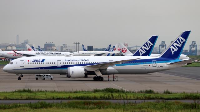 誘喜さんが、羽田空港で撮影した全日空 787-9の航空フォト(飛行機 写真・画像)