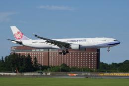 神宮寺ももさんが、成田国際空港で撮影したチャイナエアライン A330-302の航空フォト(飛行機 写真・画像)