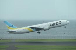 PIRORINGさんが、羽田空港で撮影したAIR DO 767-381/ERの航空フォト(飛行機 写真・画像)