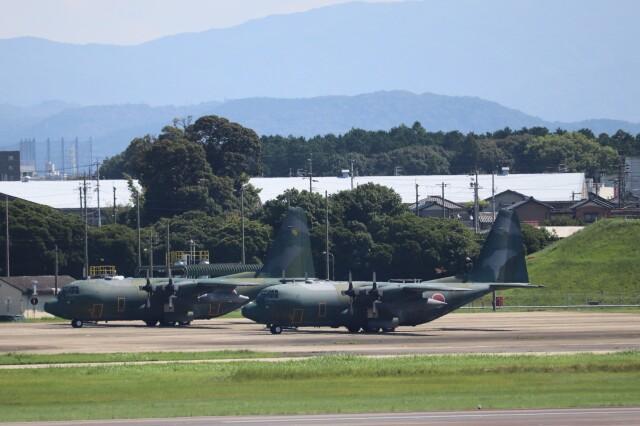 flyflygoさんが、名古屋飛行場で撮影した航空自衛隊 C-130H Herculesの航空フォト(飛行機 写真・画像)