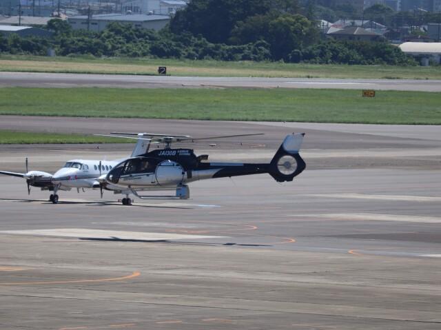 flyflygoさんが、名古屋飛行場で撮影したオートパンサー EC130B4の航空フォト(飛行機 写真・画像)