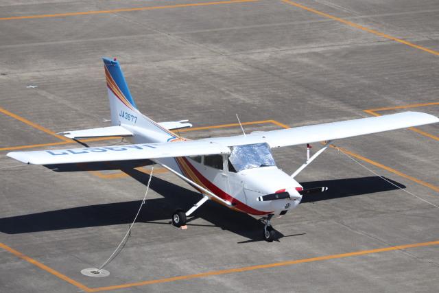 flyflygoさんが、名古屋飛行場で撮影したトライスター航空 172M Skyhawkの航空フォト(飛行機 写真・画像)