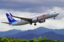 うらしまさんが、高松空港で撮影した全日空 737-881の航空フォト(飛行機 写真・画像)