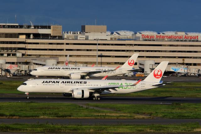 inyoさんが、羽田空港で撮影した日本航空 A350-941の航空フォト(飛行機 写真・画像)