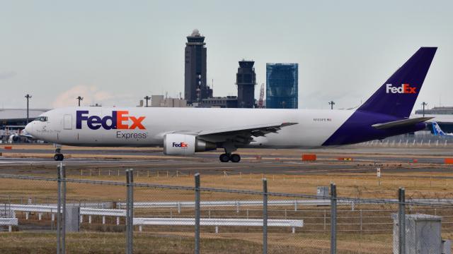 saoya_saodakeさんが、成田国際空港で撮影したフェデックス・エクスプレス 767-3S2F/ERの航空フォト(飛行機 写真・画像)