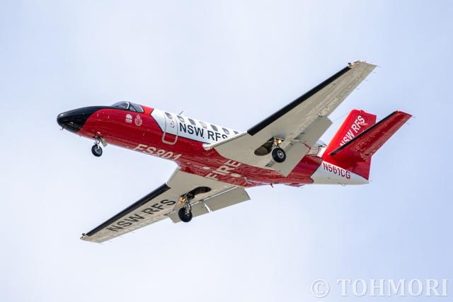 遠森一郎さんが、福岡空港で撮影したDELAWARE TRUST CO TRUSTEE 560 Citation V/Ultra/Encoreの航空フォト(飛行機 写真・画像)