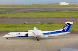 かっちゃん✈︎さんが、中部国際空港で撮影したANAウイングス DHC-8-402Q Dash 8の航空フォト(飛行機 写真・画像)