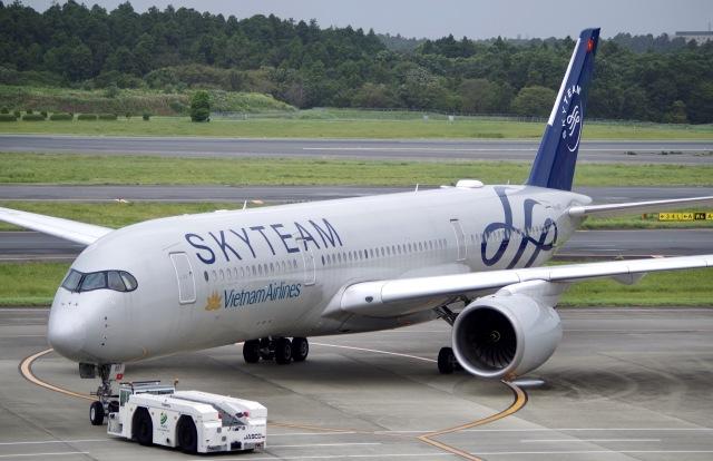 かっきーさんが、成田国際空港で撮影したベトナム航空 A350-941の航空フォト(飛行機 写真・画像)