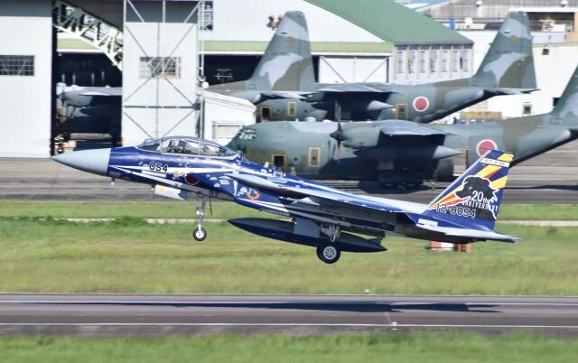 shirakoさんが、名古屋飛行場で撮影した航空自衛隊 F-15DJ Eagleの航空フォト(飛行機 写真・画像)