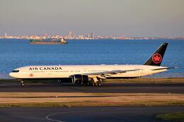 シグナス021さんが、羽田空港で撮影したエア・カナダ 777-333/ERの航空フォト(飛行機 写真・画像)