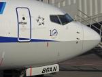 チャレンジャーさんが、羽田空港で撮影した全日空 737-881の航空フォト(飛行機 写真・画像)