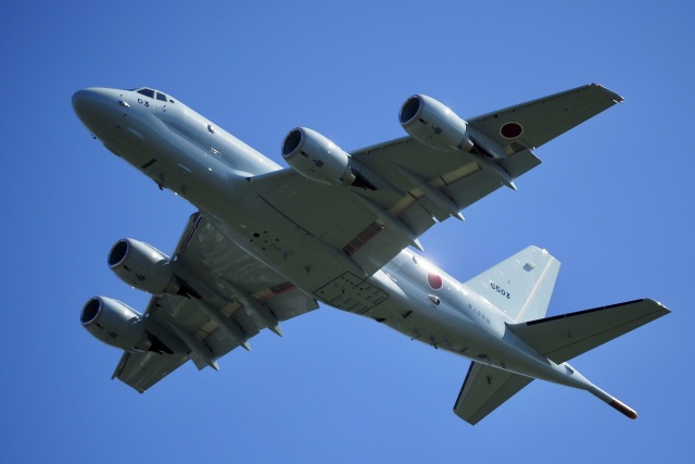 飛行機ゆうちゃんさんが、厚木飛行場で撮影した海上自衛隊 P-1の航空フォト(飛行機 写真・画像)