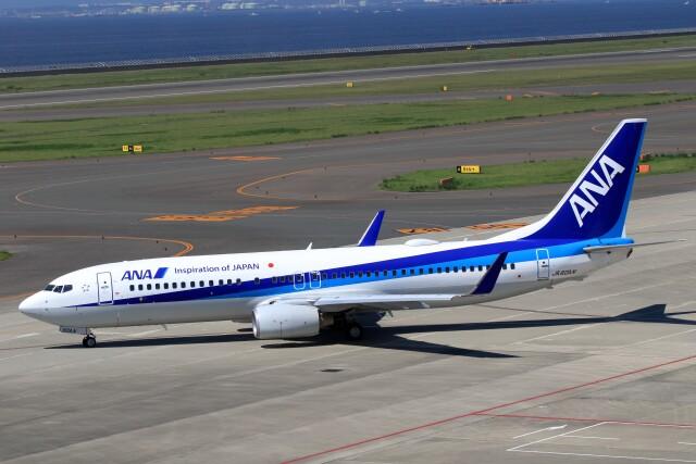 walker2000さんが、中部国際空港で撮影した全日空 737-881の航空フォト(飛行機 写真・画像)