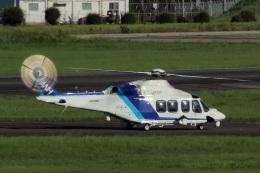 なぞたびさんが、名古屋飛行場で撮影したオールニッポンヘリコプター AW139の航空フォト(飛行機 写真・画像)