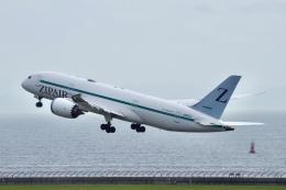 かっきーさんが、中部国際空港で撮影したZIPAIR 787-8 Dreamlinerの航空フォト(飛行機 写真・画像)